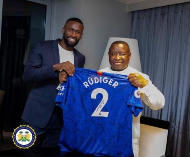 Chelsea/Germany defender Rudiger donates $101,000 to support free education in Sierra Leone