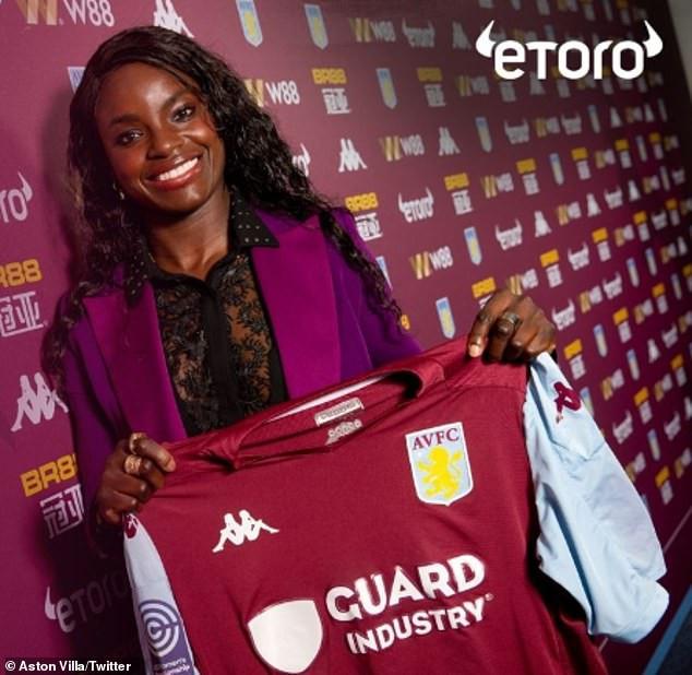 Eniola Aluko becomes Aston Villa's first-ever Women's sporting director