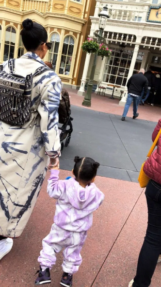 Kylie Jenner takes daughter Stormi Webster on a trip to Disneyland ahead of her 2nd birthday (photos)