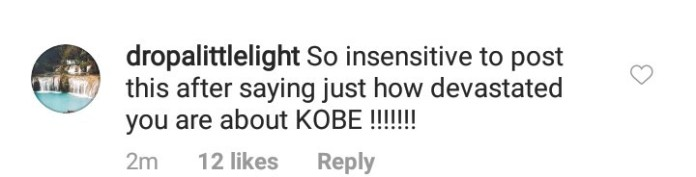 Kim Kardashian is called out for releasing a video to promote her new fragrance hours after Kobe Bryant