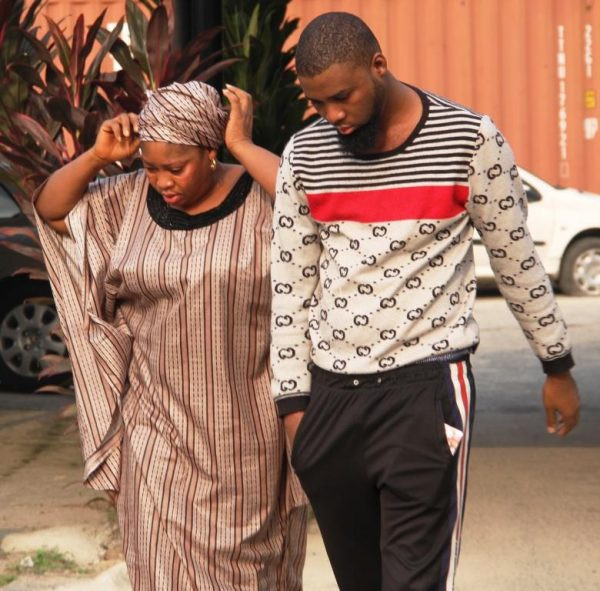Mother and son wanted by FBI, jailed for internet scam in Lagos (photos)