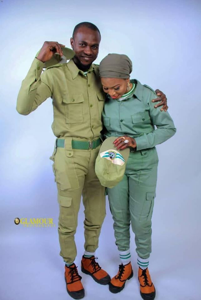 Two serving corps members set to marry after meeting in NYSC orientation camp in Kano  (photos)
