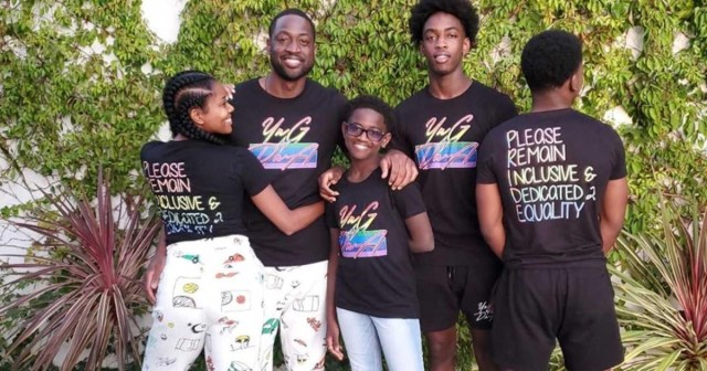 Dwyane Wade recalls the moment his 12-year-old son Zion came out as transgender