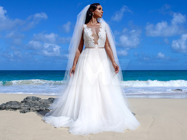 Singer, Mya secretly married a mystery man in the Seychelles two months ago