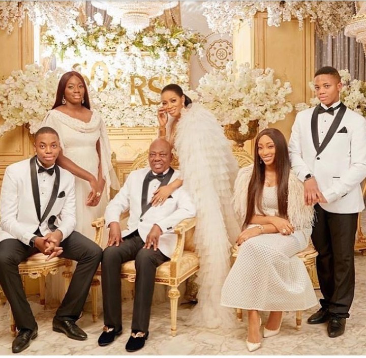 Shade Okoya shares lovely photos of her family as she reveals her greatest wish in Valentine's Day message