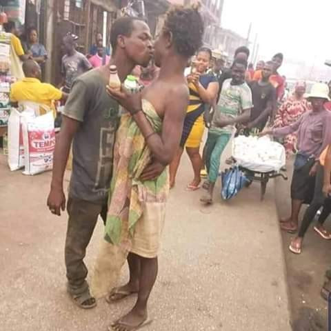 Mentally- challenged couple spotted celebrating Valentine