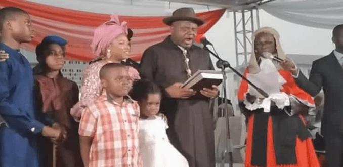 Bayelsa state governor-elect, Duoye Diri, sworn-in (photos)