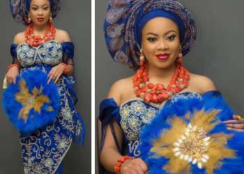 ''Name me Mrs A'' BNaija's Nina shares photos from her traditional wedding