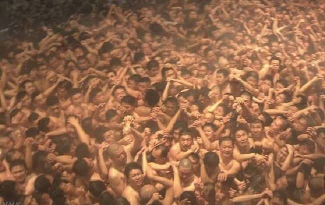 About 10,000 males gather in Japan for annual naked festival (photos)