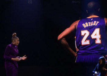 Watch Jennifer Hudson's moving tribute to Kobe and Gianna Bryant at the NBA All-Star Game (Video)