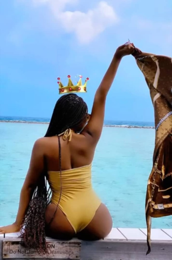 Sophia Momodu puts her banging body on display as she vacations in?Maldives?Island (Photos)