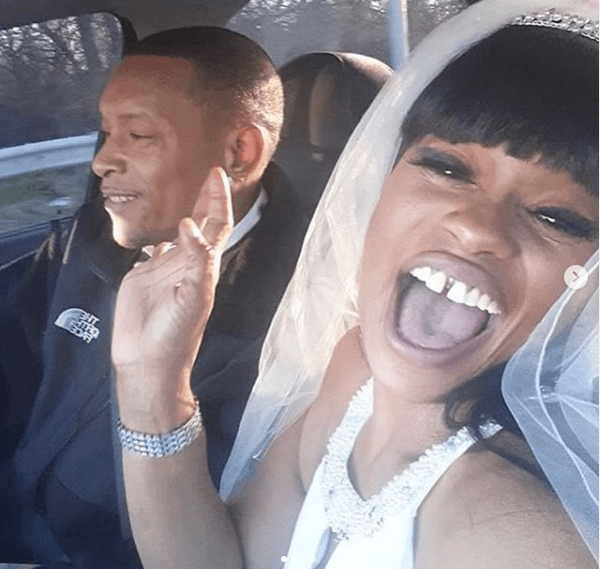 Blac Chyna?s mom Tokyo Toni remarries her ex-husband Marcellus Hunter and it's her 5th wedding (photographs)
