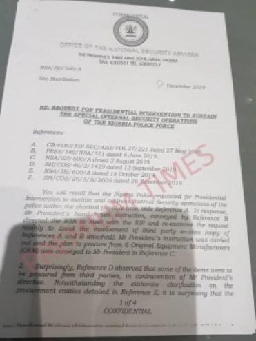 NSA Babagana Monguno and Buhari