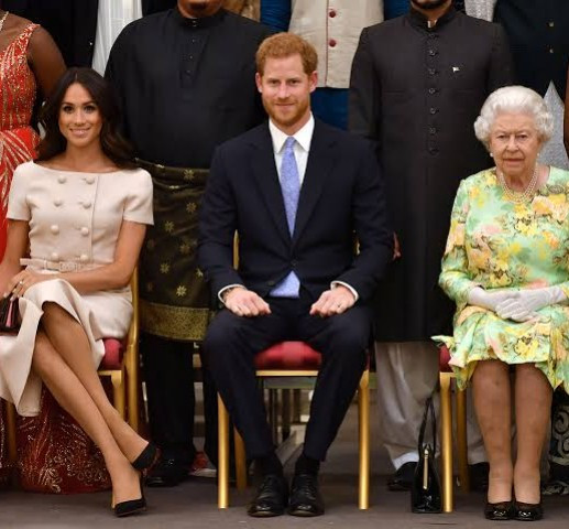 Queen Elizabeth bans Prince Harry and Meghan Markle from using lucrative