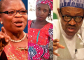 """Oby Ezekwesili accuses Buhari of """"lack of compassion"""" on the second anniversary of Leah Sharibu's abduction"""