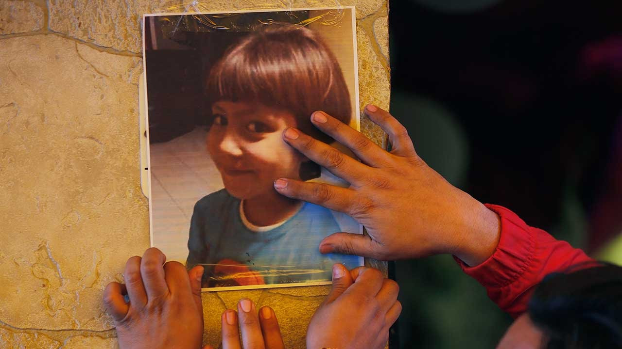 Mexican police arrest couple suspected of kidnapping, raping, torturing and killing a seven-year-old girl before dumping body in a bin bag