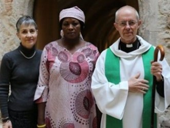 Archbishop of Canterbury hosts Leah Sharibu's mother to mark the two years anniversary of her daughter's abduction