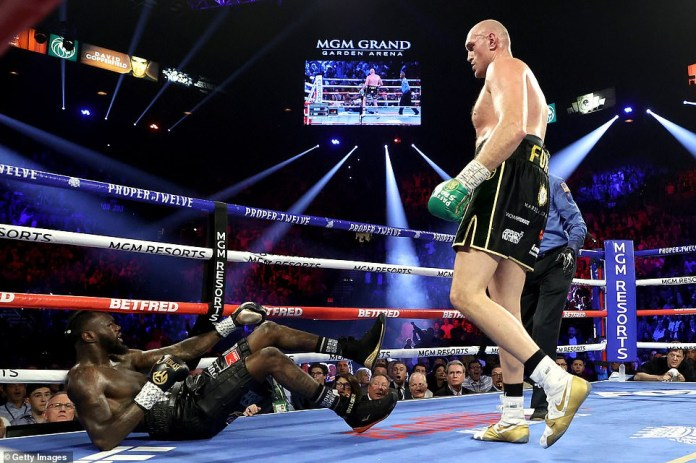 More photos from WBC champion of Tyson Fury