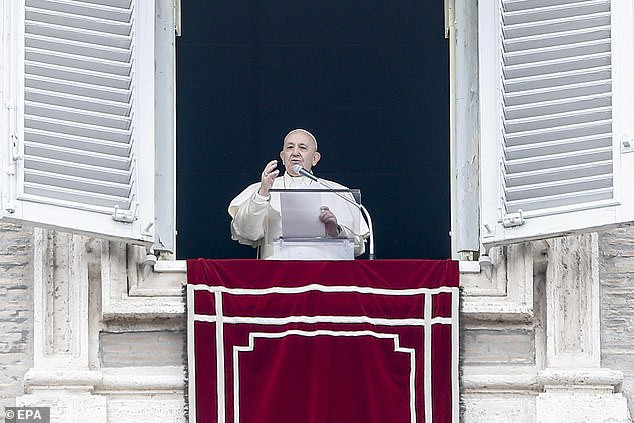 Pope Francis makes first public appearance following illness, confirms he