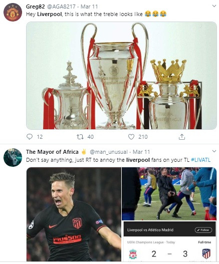 Twitter users roast Liverpool squad after Liverpool
