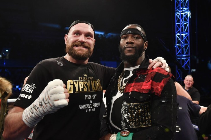 Tyson Fury and Deontay Wilder test negative to hard drugs and stimulants as final drug test results are released