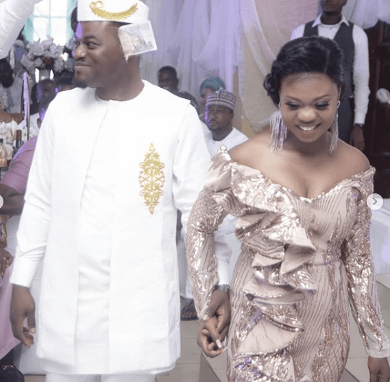 Photos from wedding ceremony of My Flatmates star, MC Pashun and wife Gift