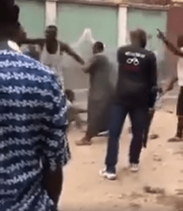 SARS officers beaten in Lagos for crushing little boy