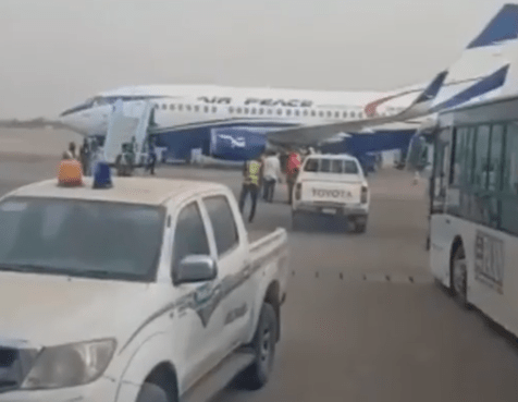 Kano State Government reacts after AirPeace Pilot stopped passengers from disembarking from a flight after one of them began vomiting