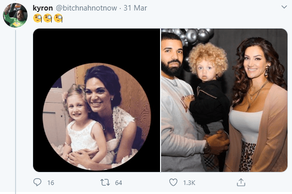 """""""Is Drake his father too?"""" Twitter users react as woman who looks like Drake"""