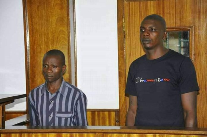 COVID-19 lockdown: Policeman, security officer remanded for battering pregnant woman (photos)