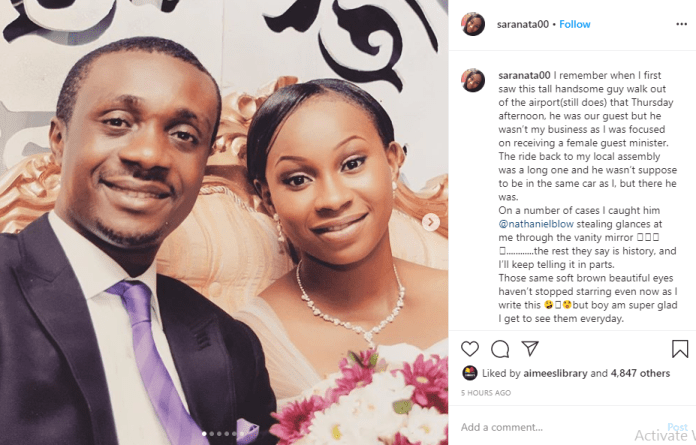 Gospel singer, Nathaniel Bassey and wife, Sarah celebrate 7th wedding anniversary