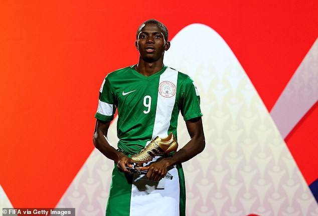 Super Eagles striker, Victor Osimhen reveals he rejected a move to Arsenal after speaking to Arsene Wenger