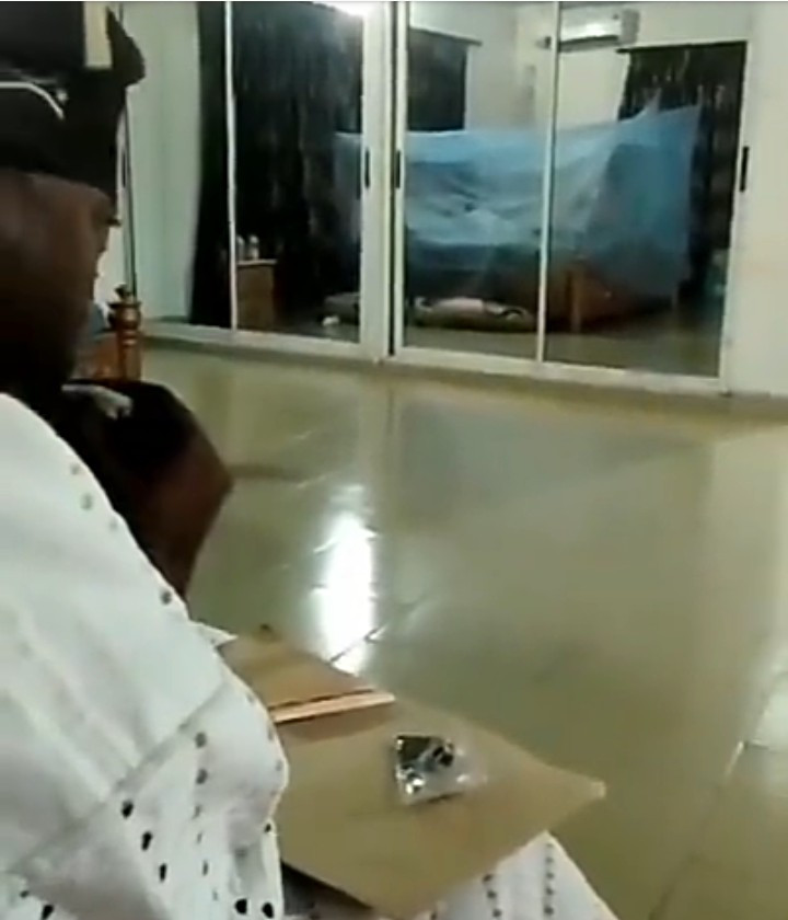 Video purportedly showing Oluwo of Iwo rolling up a joint is leaked by his ex-wife
