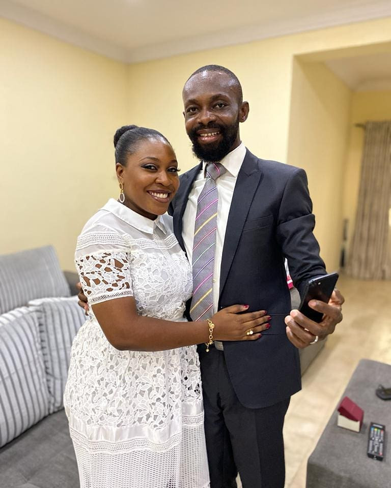 Lagos couple wed on the internet due to Coronavirus lockdown