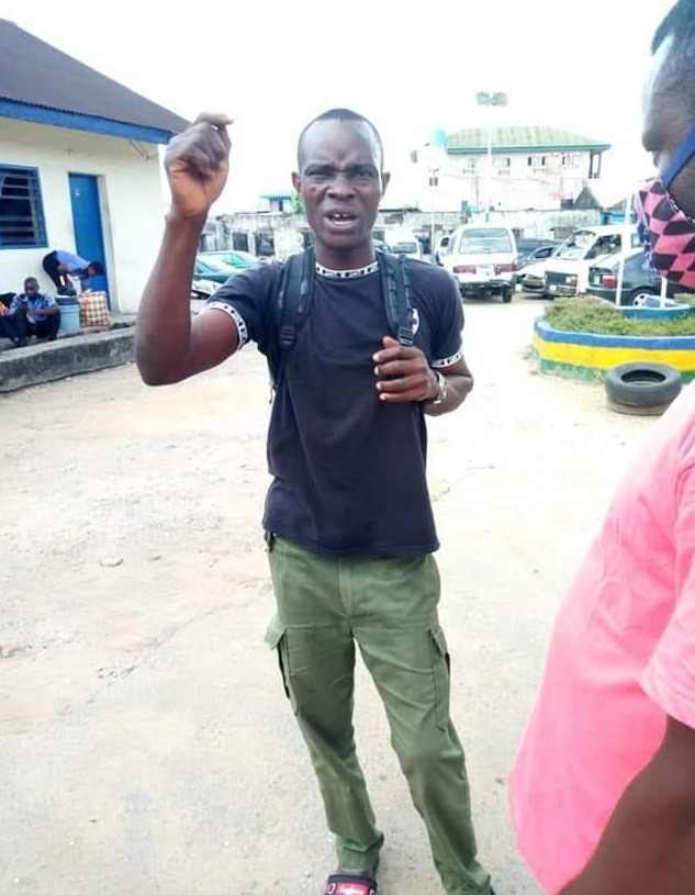 Policeman allegedly attacks Cross River State COVID-19 Task Force for asking him to wear face mask