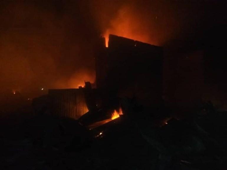 Kaduna Fire Outbreak