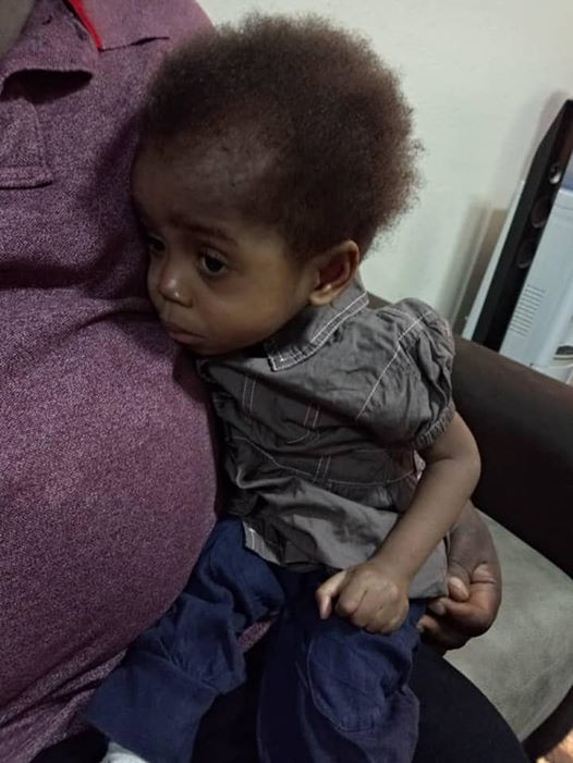2-year-old boy rescued in Umuahia after being found locked up in uncompleted building for days without food and water