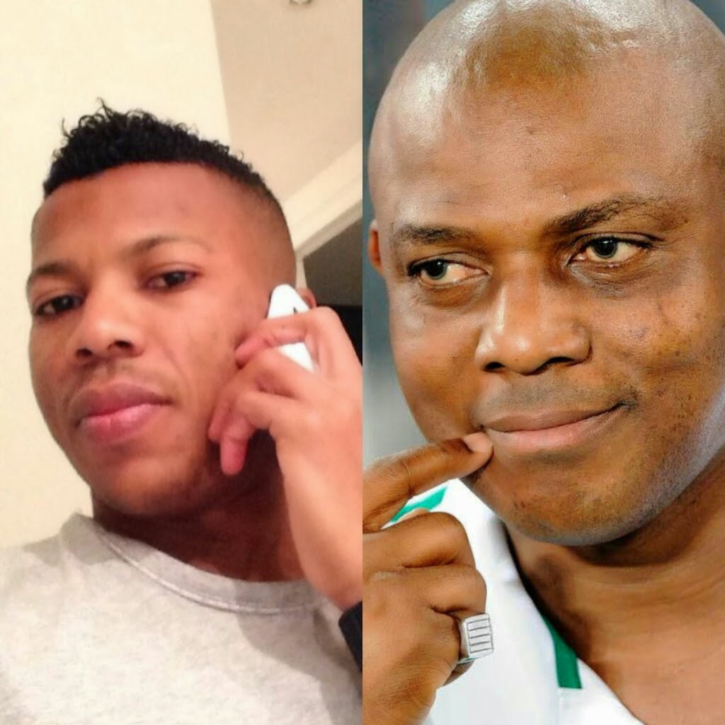 'I asked him if we had any problems' - Ikechukwu Uche opens up on his relationship with late Super Eagles coach, Stephen Keshi