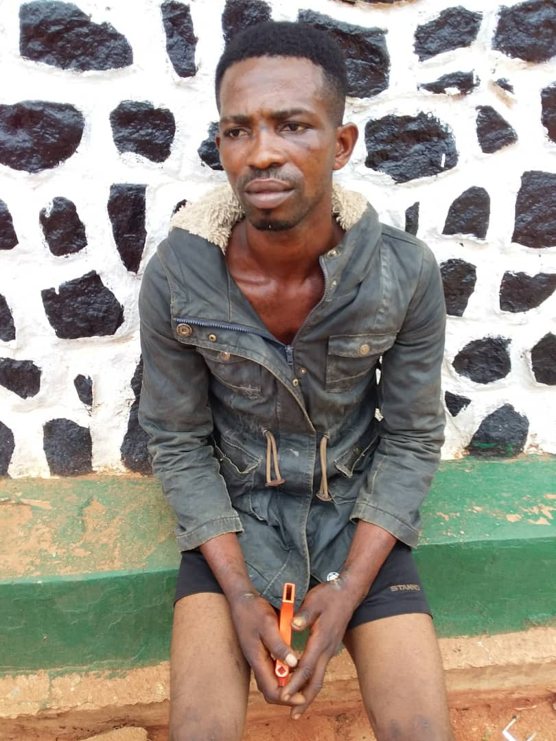 Ex-convict arrested for raping lady twice after threatening her with a