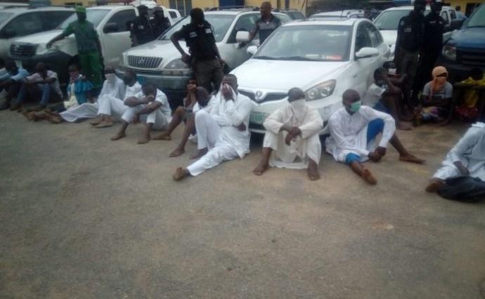 Pastor, Imam and 27 others arrested for violating lockdown order in Lagos lindaikejisblog