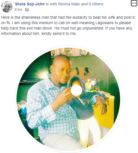 Outrage as man batters his wife then brags about it on Facebook by sharing photos of her bleeding face  Outrage as man batters his wife then brags about it on Facebook by sharing photos of her bleeding face (PHOTOS) 5ebb1037a57ee