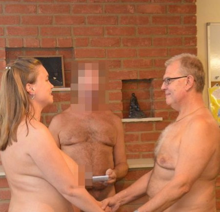 5ebdbc1983a6d TF? Couple marry naked in front of 40 naked guests and a naked officiator (photos)