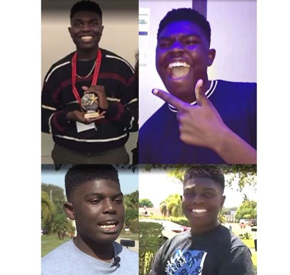Nigerian boy breaks two records in his school in the U.S.