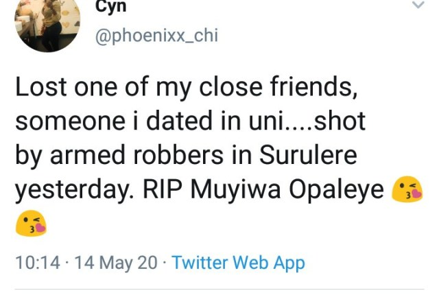 How gunmen killed ex-Ondo Military Administrator?s son as he drank in a joint with friends