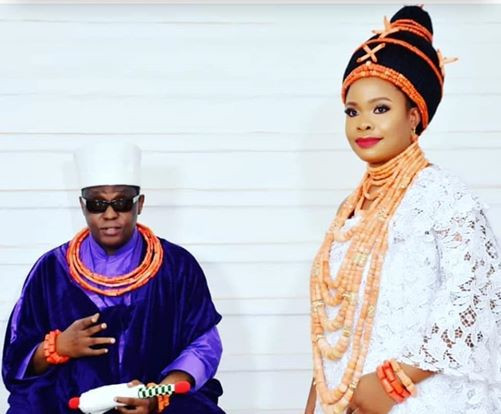 Oba of Benin welcome baby boy with second wife