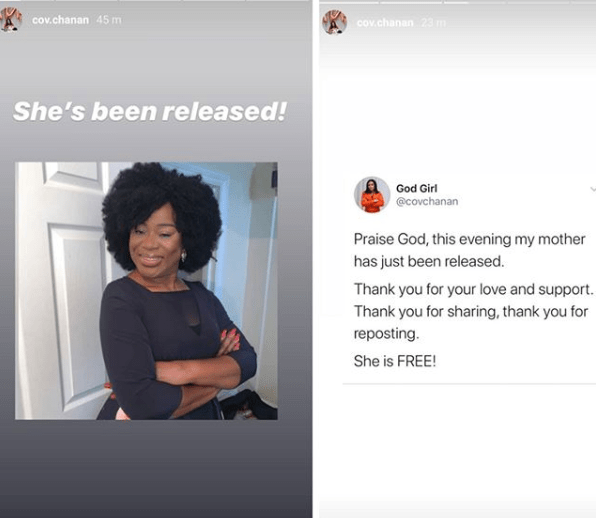 """""""I'm finally leaving the incarceration centre after 58 days"""" Benue COVID-19 index case, who refused to take treatment, shares video of her leaving the isolation centre"""