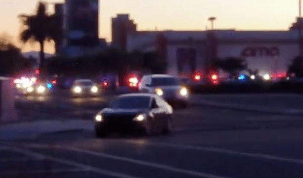 Three hurt after gunman wielding AR-15 opens fire at a mall and