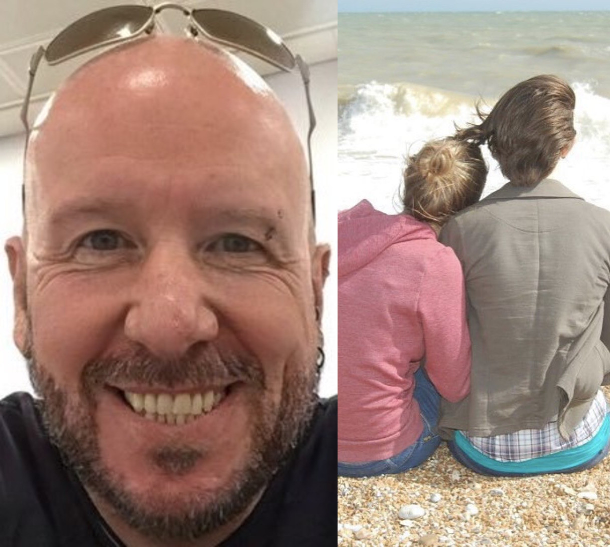 Proud single dad shows off the daughters he raised by himself after his 'cheating' wife left him with their kids and moved on with a married man