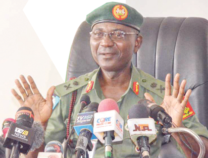 Captured Boko Haram insurgents are quarantined and given face masks - Defence Headquarters