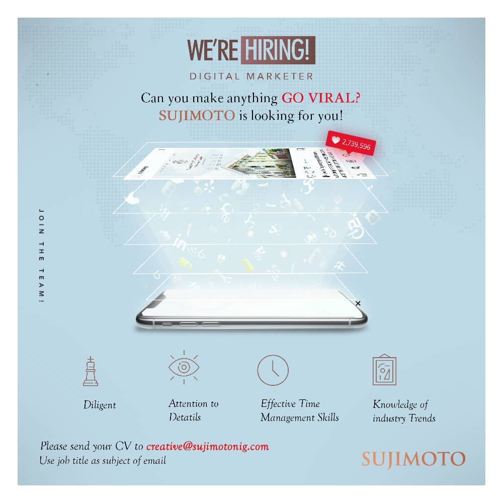 Sujimoto Construction is Hiring!!!
